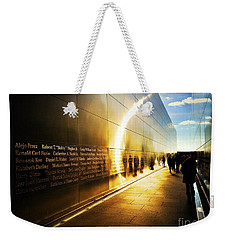 Remembrance At Empty Sky Weekender Tote Bag
