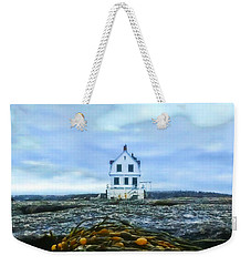 Remnants On The Rocks Weekender Tote Bag