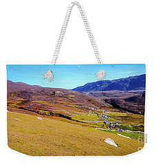 Remote Port - Donegal Ireland Weekender Tote Bag
