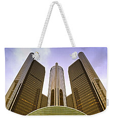Renaissance Center Weekender Tote Bag by Michael Peychich