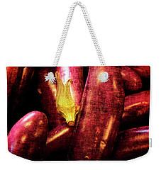 Renaissance Chinese Eggplant Weekender Tote Bag