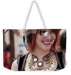 Renaissance Girl Weekender Tote Bag