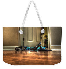 Rendezvous Do Not Disturb 05 Weekender Tote Bag by Andy Lawless