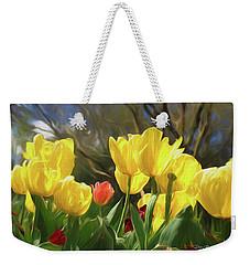 Renewal First Day Of Spring Weekender Tote Bag