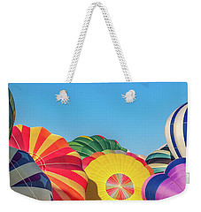 Weekender Tote Bag featuring the photograph Reno Balloon Races by Bill Gallagher