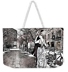 Renoir In Stokholm Collage Renoir Weekender Tote Bag