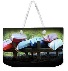 Rent Me Weekender Tote Bag by Kim Henderson