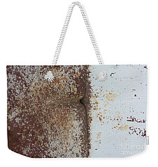 Weekender Tote Bag featuring the photograph Repaint Number Eight by Brian Boyle
