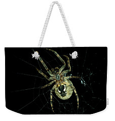 Weekender Tote Bag featuring the photograph Repairing by Steven Santamour