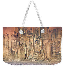 Repetitive Reality Weekender Tote Bag
