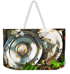 Replaced With Spinners Weekender Tote Bag