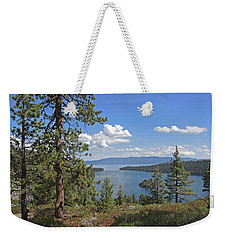 Weekender Tote Bag featuring the photograph Replete With Beauty by Lynda Lehmann