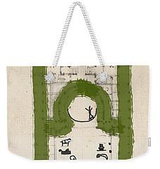 Repriments I             Weekender Tote Bag by Keshava Shukla