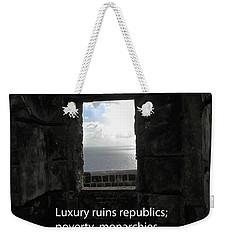 Republics And Monarchies Weekender Tote Bag by Ian  MacDonald