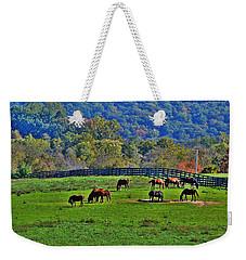 Rescue Horses Weekender Tote Bag