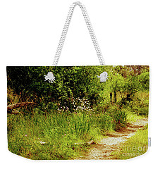 Weekender Tote Bag featuring the photograph Reserve Near Bibra Lake by Cassandra Buckley
