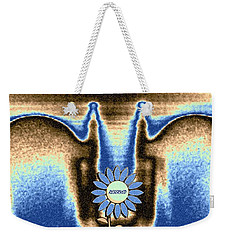 Weekender Tote Bag featuring the mixed media Reserved by Will Borden