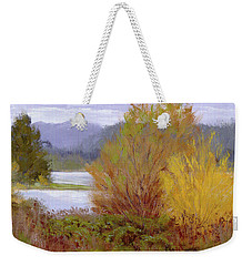 Reservoir Spring Weekender Tote Bag