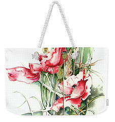 Residents Of Green Fields Weekender Tote Bag by Anna Ewa Miarczynska
