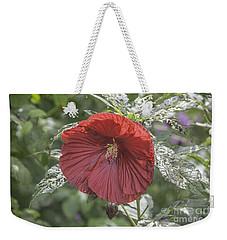 Resilient Hibiscus Weekender Tote Bag