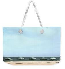 Resort Amenities Weekender Tote Bag