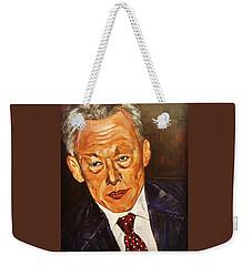 Respect II Weekender Tote Bag by Belinda Low