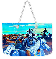 Respect Mother Earth Weekender Tote Bag