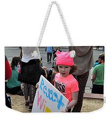 Respect Women Weekender Tote Bag