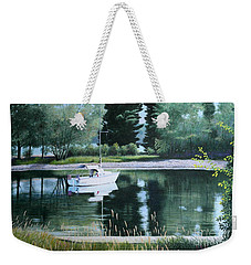 Rest At Pinhey's Point Weekender Tote Bag