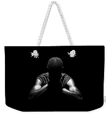 Weekender Tote Bag featuring the photograph Rest by Eric Christopher Jackson