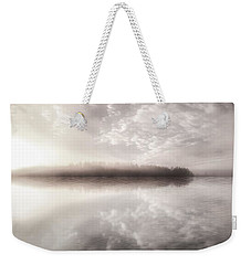 Weekender Tote Bag featuring the photograph Rest In His Peace Bw by Rose-Maries Pictures
