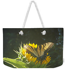 Weekender Tote Bag featuring the photograph Rest Stop by Virginia Coyle