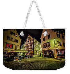 Weekender Tote Bag featuring the photograph Restaurante Roseneck by David Morefield