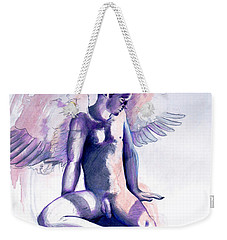 Resting Angel Weekender Tote Bag
