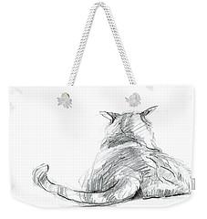 Resting Cat Weekender Tote Bag