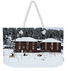 Resting Elk - 9131 Weekender Tote Bag