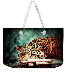 Resting Jaguar Weekender Tote Bag