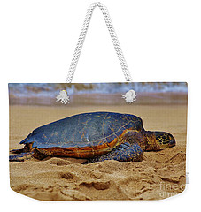 Resting On The Beach Weekender Tote Bag by Craig Wood