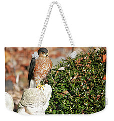 Resting On The Wing Of An Angel Weekender Tote Bag by Trina Ansel