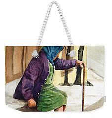 Resting Weekender Tote Bag