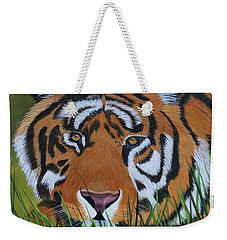 Resting Tiger  Weekender Tote Bag by Myrna Walsh