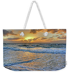 Weekender Tote Bag featuring the photograph Restless by HH Photography of Florida