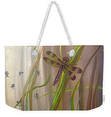 Restoration Of The Balance In Nature Cropped Weekender Tote Bag