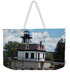 Restored Lighthouse Weekender Tote Bag