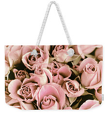 Reticent Rose Weekender Tote Bag by Jessica Jenney