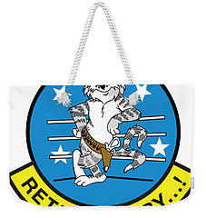 Retired Baby - Tomcat Weekender Tote Bag