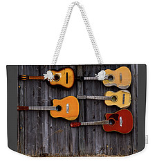 Retired Guitars  Weekender Tote Bag