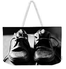 Retired Old Shoes Weekender Tote Bag