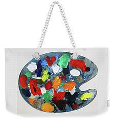 The Artists Palette Weekender Tote Bag