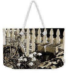 Weekender Tote Bag featuring the photograph Retirement by Betsy Zimmerli